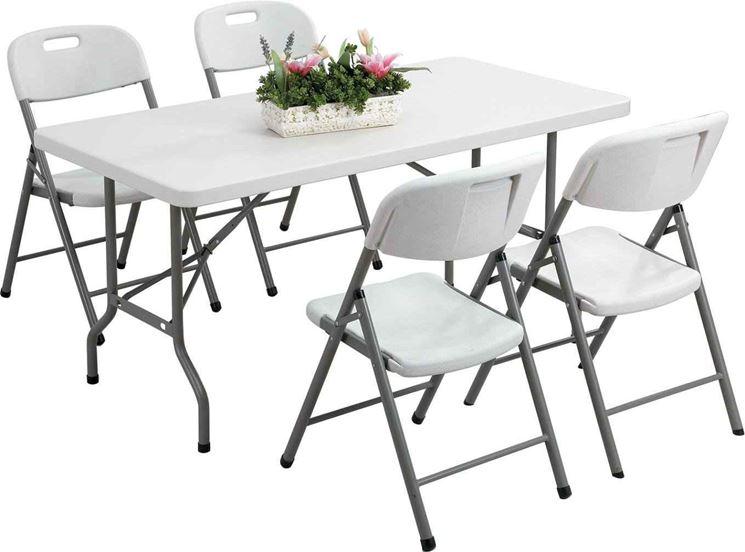 sedie per il giardino