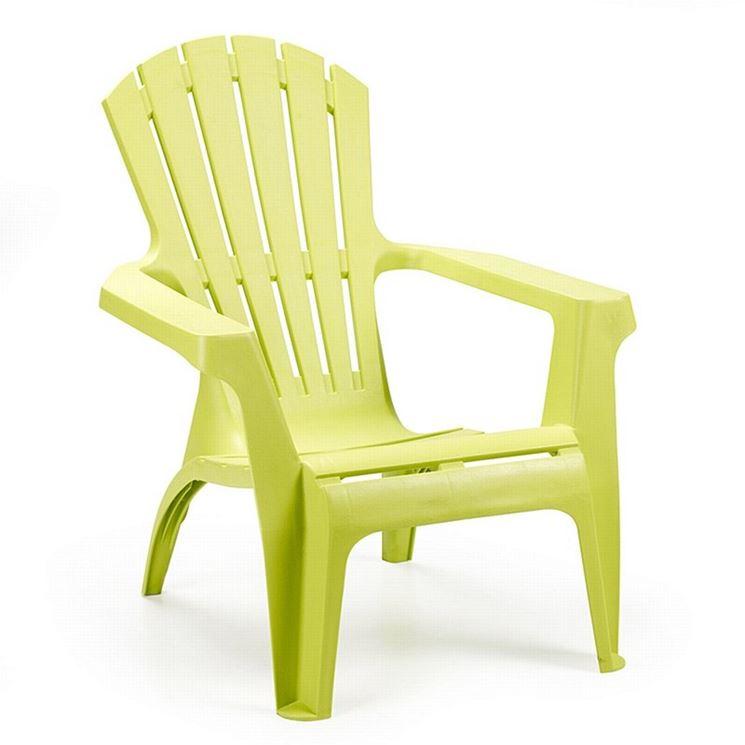 sedie in resina