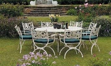 Tavoli da giardino in ferro - Tutte le offerte : Cascare a ...