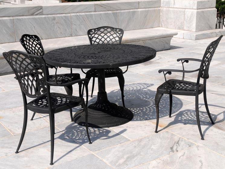 tavoli da giardino in ferro - tavoli per giardino - Tavoli in ferro da ...