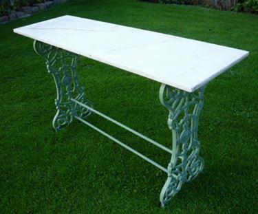 tavoli da giardino in marmo