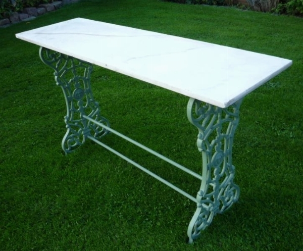 Tavoli da giardino in marmo tavoli per giardino - Tavoli da giardino in marmo e ferro battuto prezzi ...