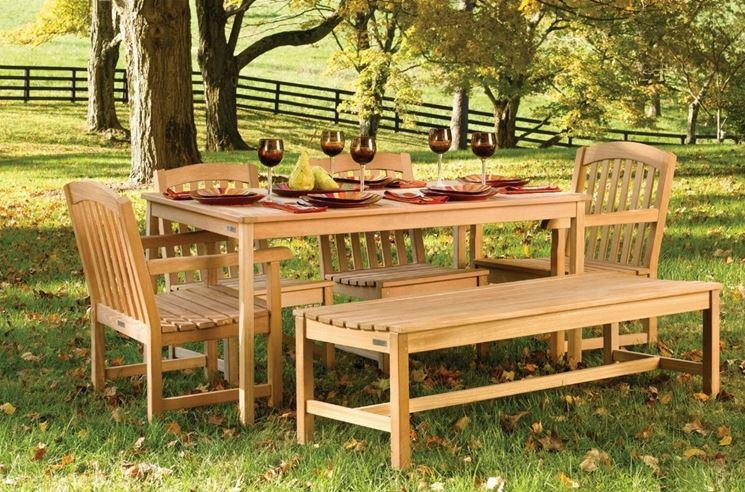 Tavoli giardino teak tavoli per giardino - Tavoli da giardino in legno teak ...