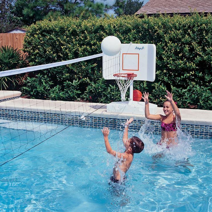 Favorito Giochi in piscina - piscine - Giochi da fare in piscina OU78