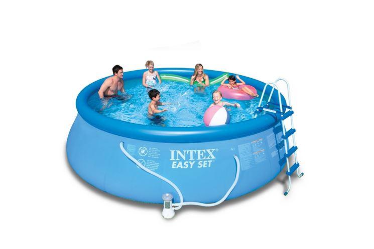Le piscine gonfiabili in plastica