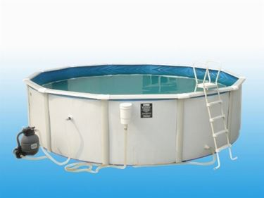 piscine esterne in acciaio