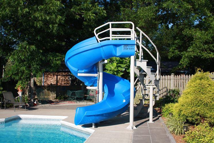scivolo piscina