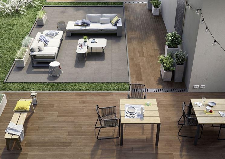 Giardino pavimentazione - elementi progettazione giardini ...