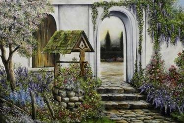 pozzo giardino