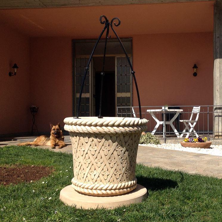 Pozzi Da Giardino In Pietra.Pozzi Elementi Progettazione Giardini