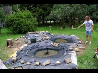 Cascata Per Laghetto Da Giardino : Al ko laghetto artificiale da giardino in pe riciclabile cascate