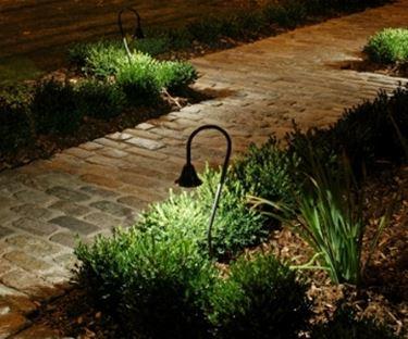 Illuminazione giardino acqua - Illuminazione da giardino solare ...