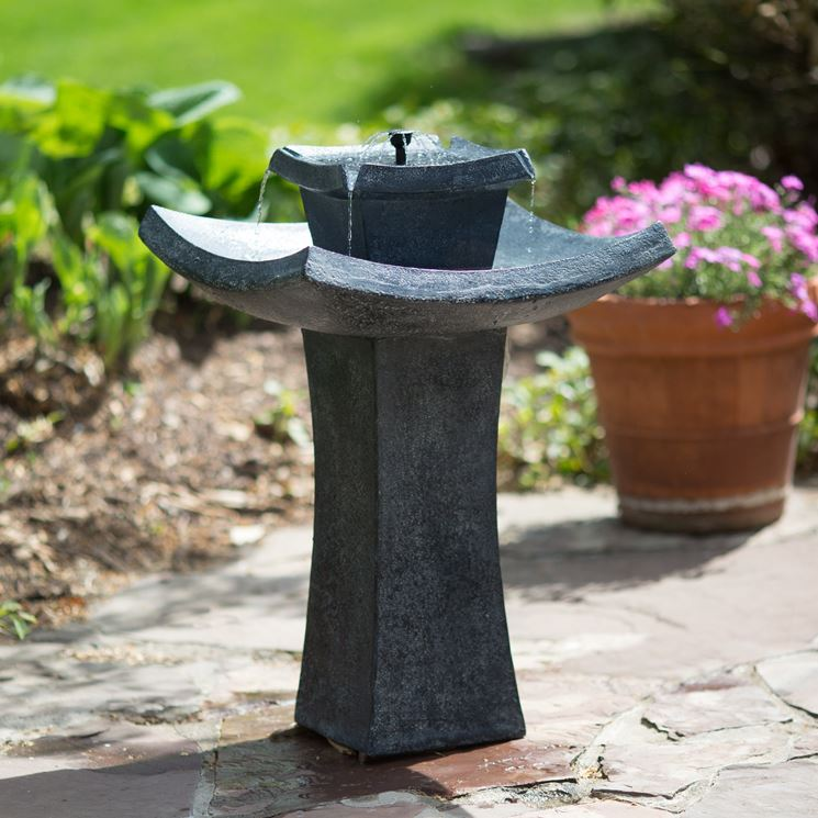 Fontane zen giardino zen fontane zen per il giardino for Pietre per giardino zen