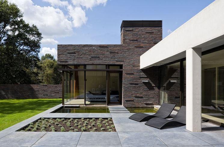 pavimento per esterno in cemento