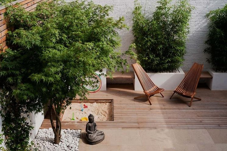 Pavimenti in legno per esterni