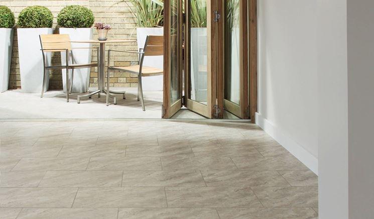 Pavimento in pietra - pavimenti per esterno - Pavimento di pietra