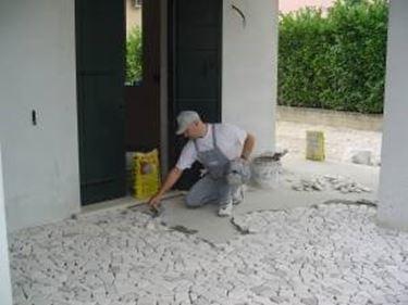 Posa pavimenti per esterni pavimenti per esterno